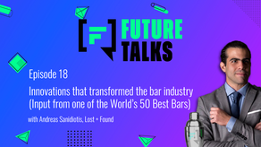 Episode 18: Innovations that transformed the bar industry (From one of the World's 50 Best Bars)