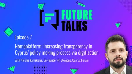 Episode 7: Nomoplatform -  Increasing transparency in Cyprus' policy-making process via digitization