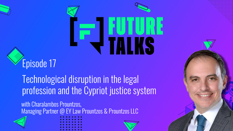 Episode 17: Tech disruption in the legal profession and the Cypriot justice system
