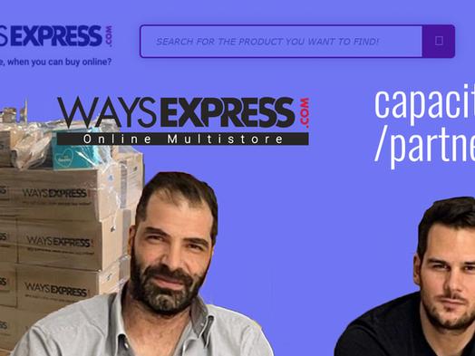 WaysExpress: Επιλέγει Capacitor Partners ως σύμβουλο τεχνολογίας