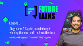 Episode 8: Stagedoor - A Cypriot-founded app is winning the hearts of London's theaters.
