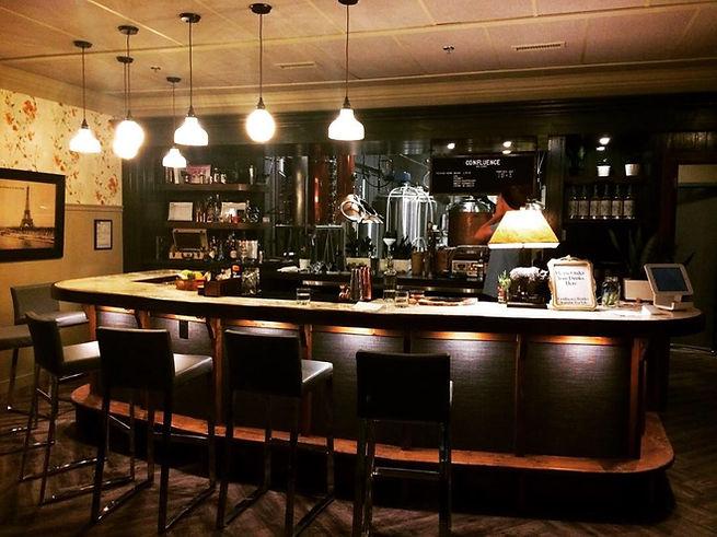 Calgary speakeasy cocktail bar and craft distillery