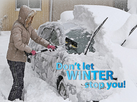 Don't let WINTER stop you!