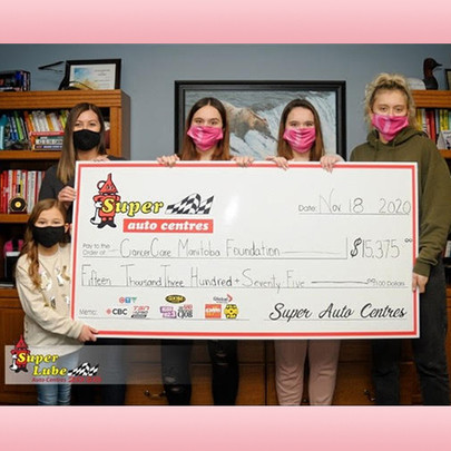Pink Caps For Cancer Fundraising Goal Exceeded