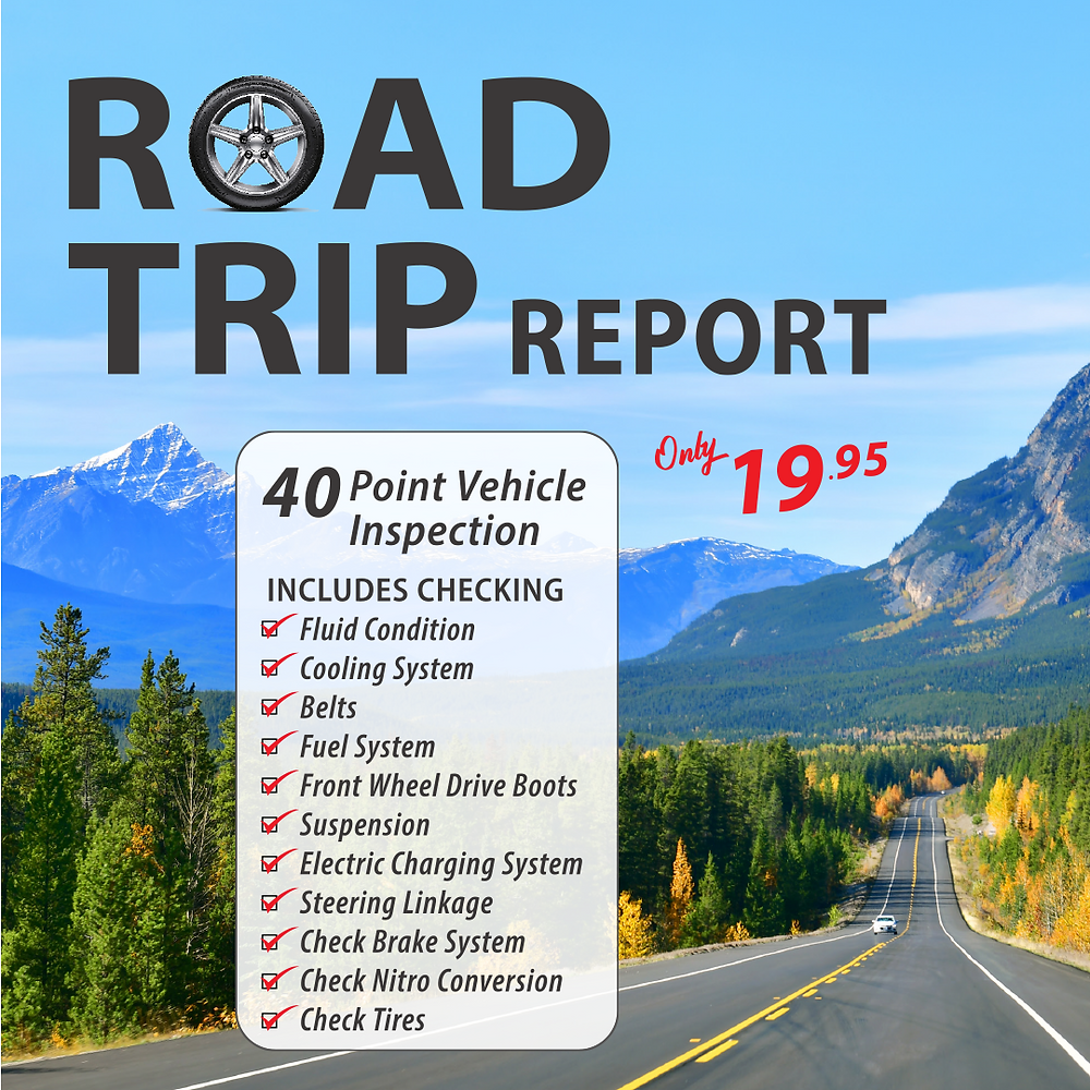 Road Trip Report 40pt safety inspection for 19.95 at Super Auto Centres Winnipeg