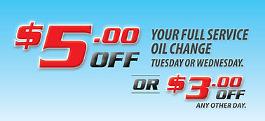$5 OFF Full Service Oil Change  | Oil Change Coupon | Super Lube Auto Centres