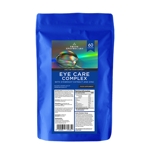 Eye Care Complex Food Supplement