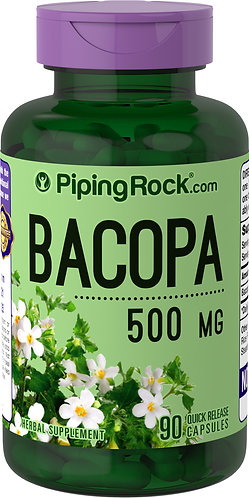 BACOPA MONNIERI 500 MG - 90 SOFTGEL CAPSULES