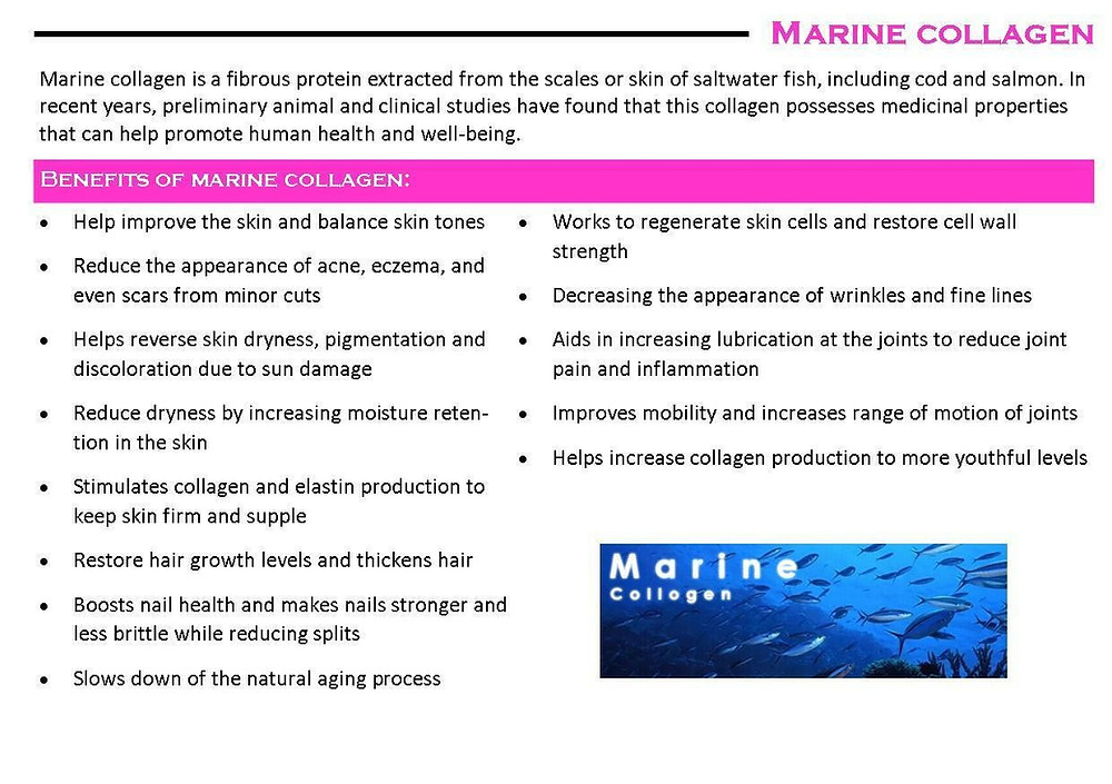 Marine Collagen Supplements