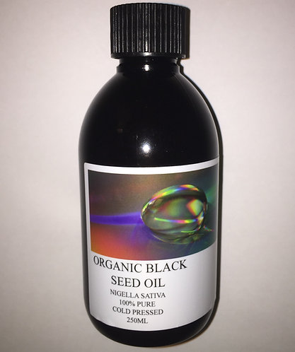 ORGANIC BLACK SEED OIL - 250ML