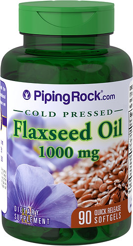 Flaxseed Oil 1000mg - 90 Quick Release Soltgel capsules