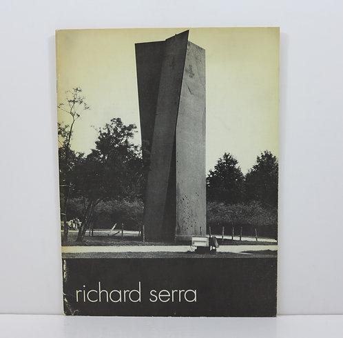 Richard Serra. Stedelikj Museum Amsterdam. 1977.
