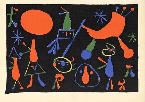 Miro. Lithograph. Cahiers d'Art. 1949.