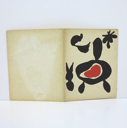 Joan Miró. Catalogue Pierre Matisse. Mai-Juin 1947.