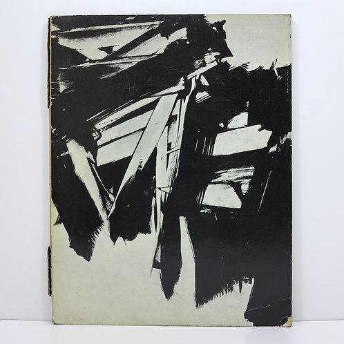 Pierre Soulages. L'atelier de Soulages par Izis. Galerie de France. 1960.