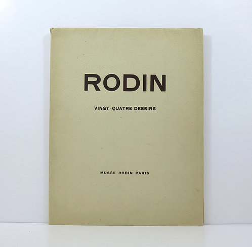 Rodin. Vingt-quatre dessins. Musée Rodin. 1948.