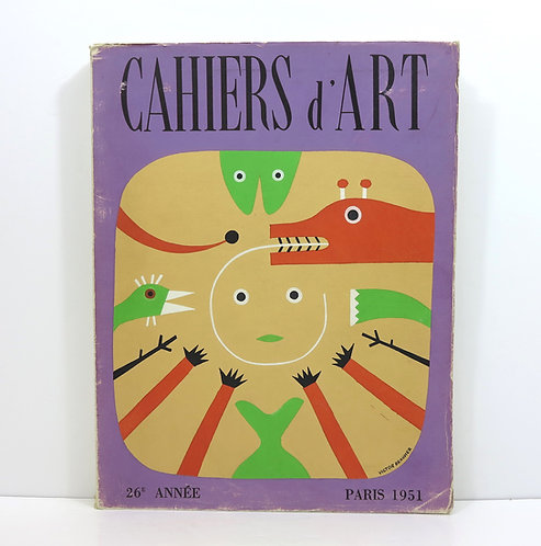 Revue Cahiers d'Art. Year 26th. 1951.