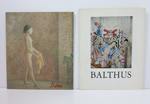 Balthus. Lot de deux catalogues.
