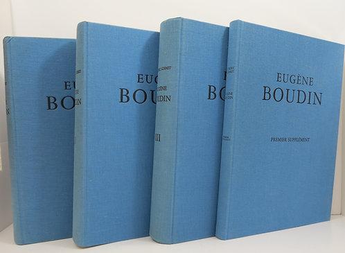 Eugène Boudin. Schmitt Robert. Catalogue Raisonné. 1973.