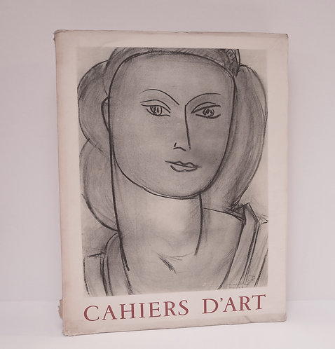 Revue Cahiers d'Art. 1953.