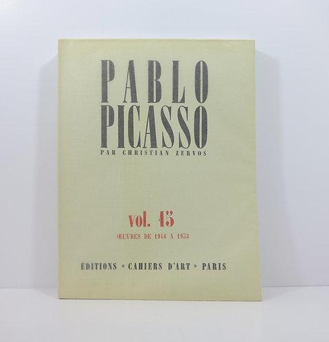 Picasso. By C.Zervos. Catalogue Raisonné. Vol. 15. 1985.