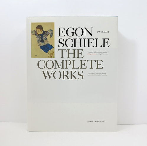 Egon Schiele. The complete works. By Jane Kallir. Thames and Hudson. 1998.