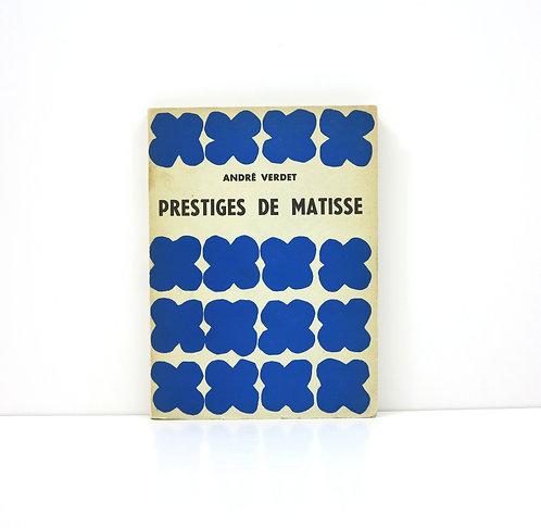 Prestiges de Matisse. By André Verdet. 1952.