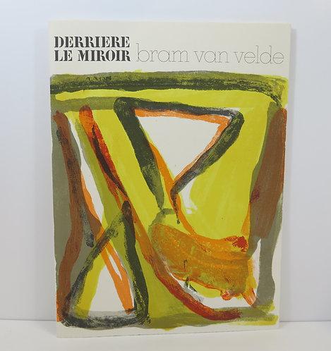 Bram Van Velde. Derrière le Mirroir. nº216. Deluxe, signed. 1975.
