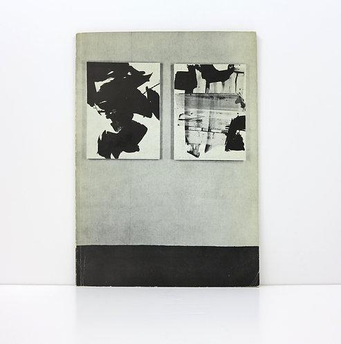 Pierre Soulages. Exhibition Galerie de France. 1963. Numbered.