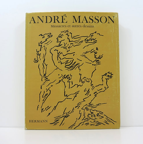 André Masson. Massacres et autres dessins. Hermann. Deluxe edition.