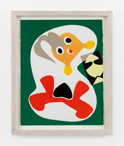 Max Ernst. Stencil. 1949.