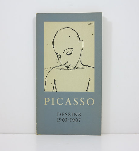 Pablo Picasso. Dessins 1903-1907. 1954. Mourlot.