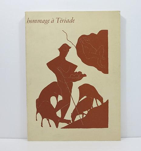 Joan MIRO. Hommage à Tériade. 1973. With an original lithograph.