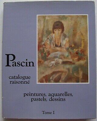 Catalogue raisonné de l'oeuvre de Pascin en 4 tomes, 1984