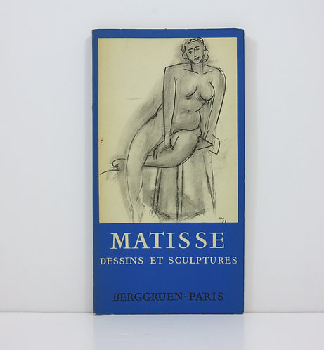 Henri Matisse. Unpublished drawings and sculptures. Berggruen. 1958.