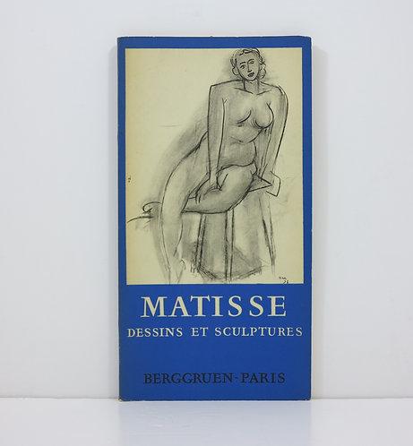 Henri Matisse. Unpublished drawings and sculptures. Berggruen. 1958.