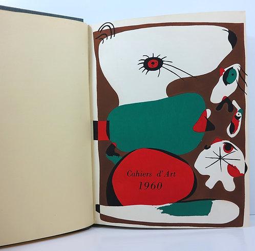 Revue Cahiers d'Art. 1960. Year 33-35.