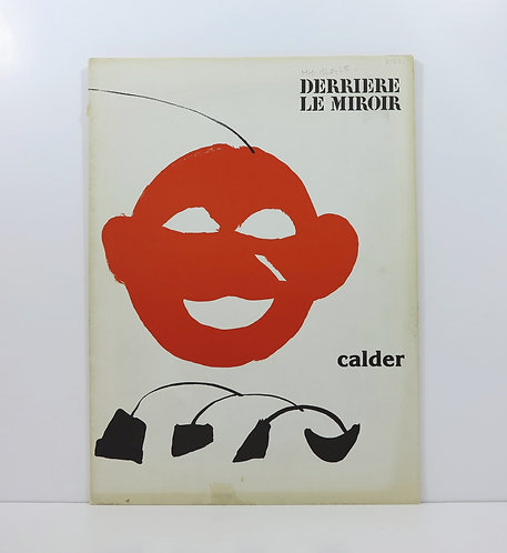 Calder. Derrière le Mirroir. n°221. Maeght. 1976.