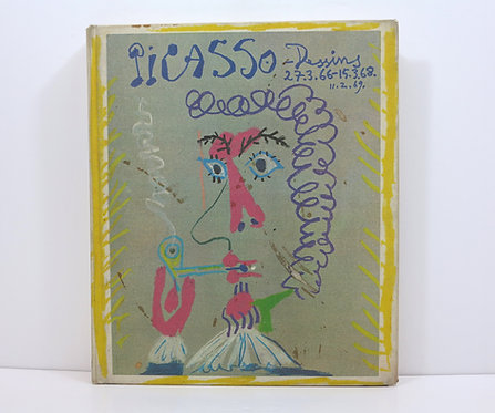 Picasso : Dessins 27.3.66 - 15.3.68. By Charles Feld. Éditions Cercle D'Art