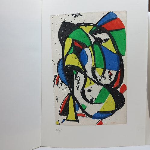 Aragon. Les adieux. Paris, Temps Actuels, 1981. Miro, Matta, Masson.