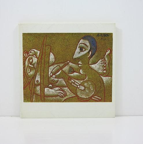 Picasso. Dessins en noir et en couleurs. Galerie Michel Leiris. 1971.