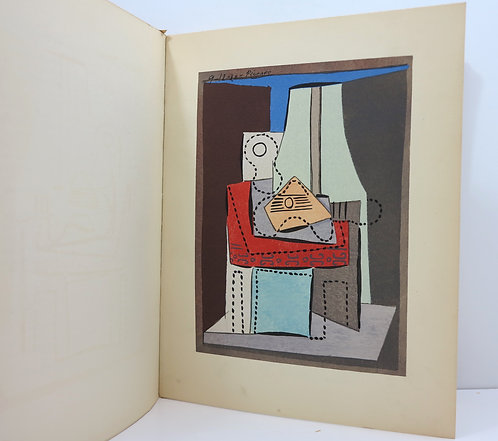 Picasso. By Christian Zervos. Cahiers d'Art. 1926. With two stencils.