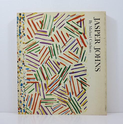 Jasper Johns. By Michael Crichton. Abrams publisher. 1977.