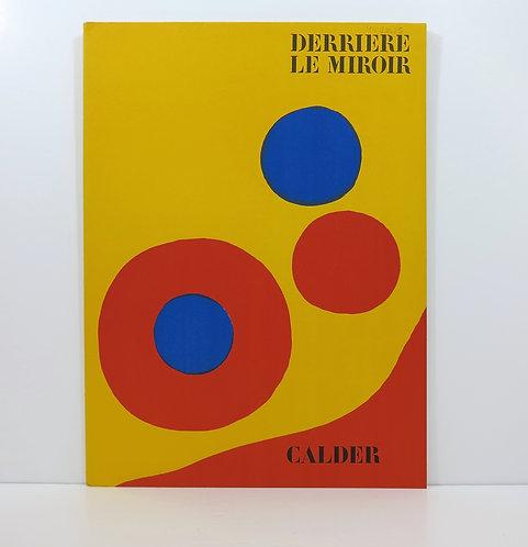Calder. Derrière le Mirroir. n°201. Maeght. 1973.