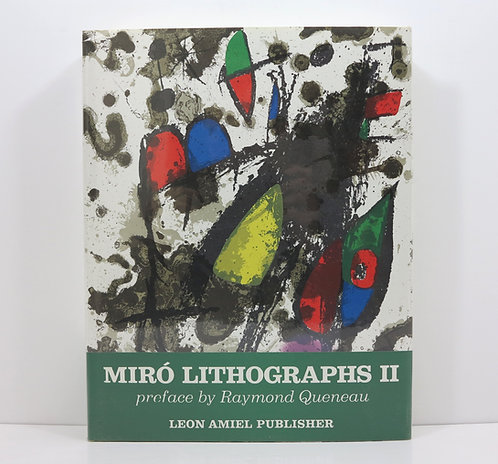 Joan Miro Lithographs II. Leon Amiel. 1975. With 11 original lithographs