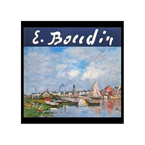 Eugène Boudin, 1824 - 1898, Musée Eugène Boudin, Honfleur, 1992