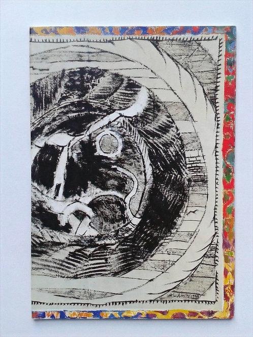 Alechinsky sur le vif. Texte deJean Clair.Galerie Lelong. 2000.