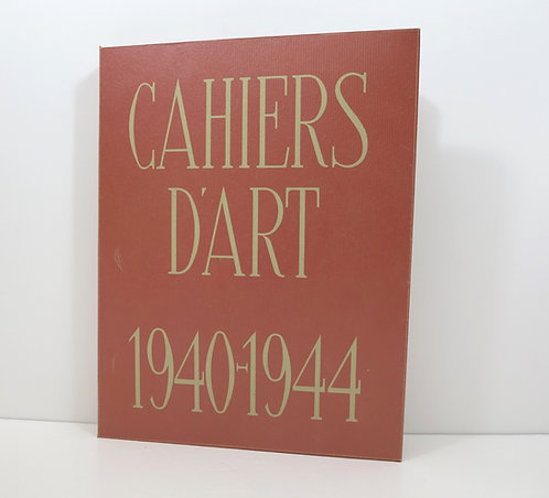 Revue Cahiers d'Art. 1940-1944. With the Picasso dry point.