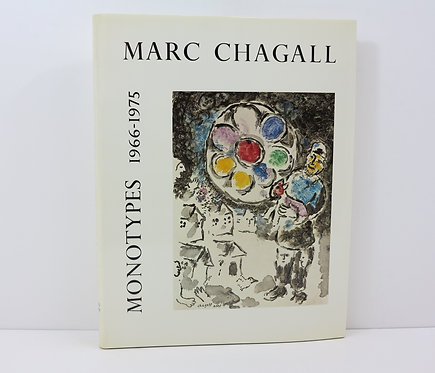 Chagall. Volume 2, Monotypes 1966-75. Cramer pub. Cat. Raisonné.