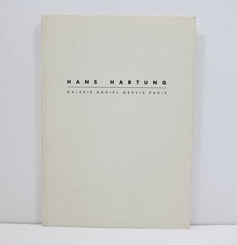 Hans Hartung. Works on paper. Galerie Daniel Gervis. 1987.